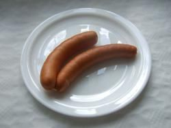 Grillwurst rot scharf