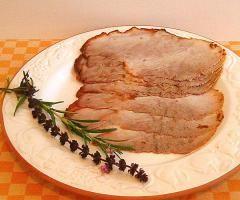 Kalter Braten aus Bioschweinefleisch