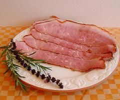 Krustenschinken aus Bioschweinefleisch